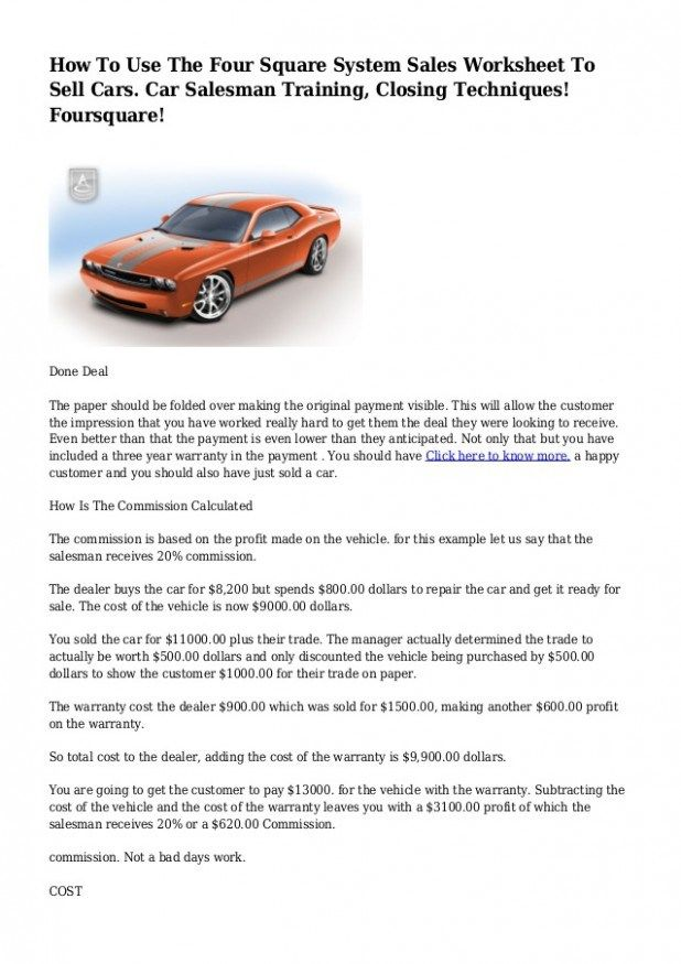 29 Fantastic Vacation Ideas For How To Sell Cars Sell Car Things To Sell Car Salesman