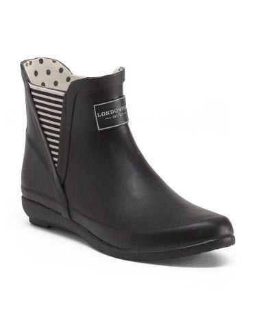 gore rain bootie  wear in 2019  fashion rain shoes