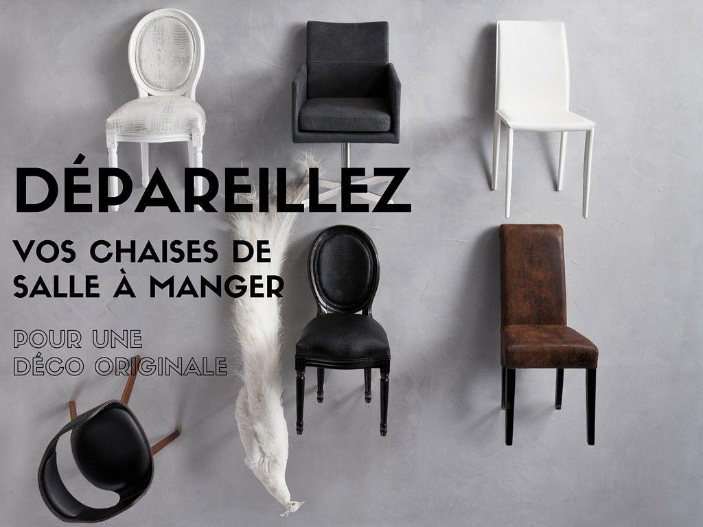 impressionnant chaises originales salle a manger | Décoration ...