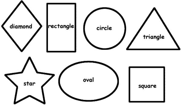 Free Printable Shapes Coloring Pages Shapes Coloring Pages ...