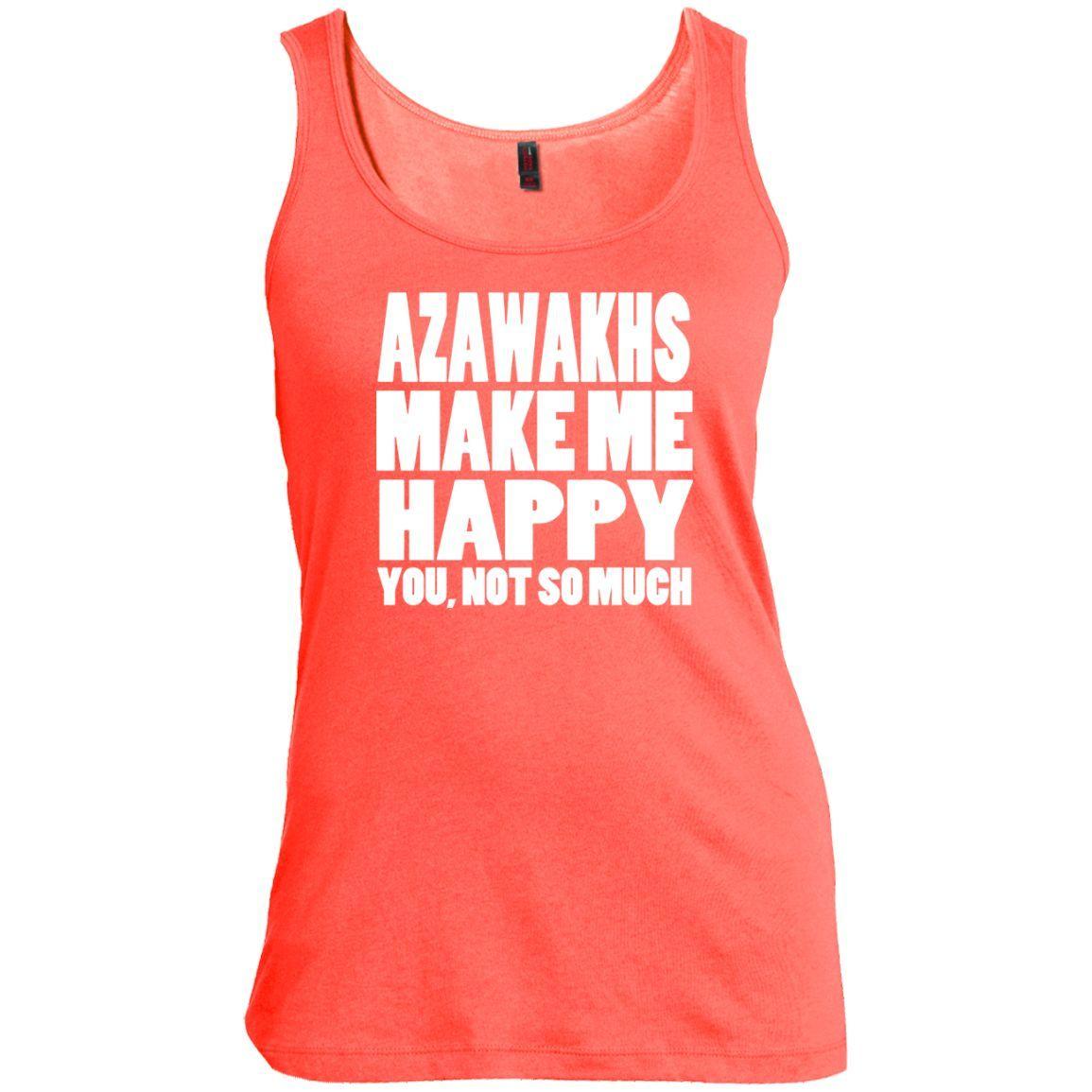 Azawakhs Make Me Happy You Not So Much Scoop Neck Tanks