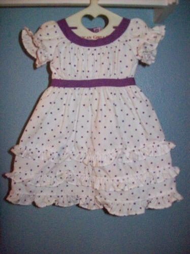 Brand New Authentic Retired American Girl Kirsten Midsummer DRESS ONLY SO CUTE!!