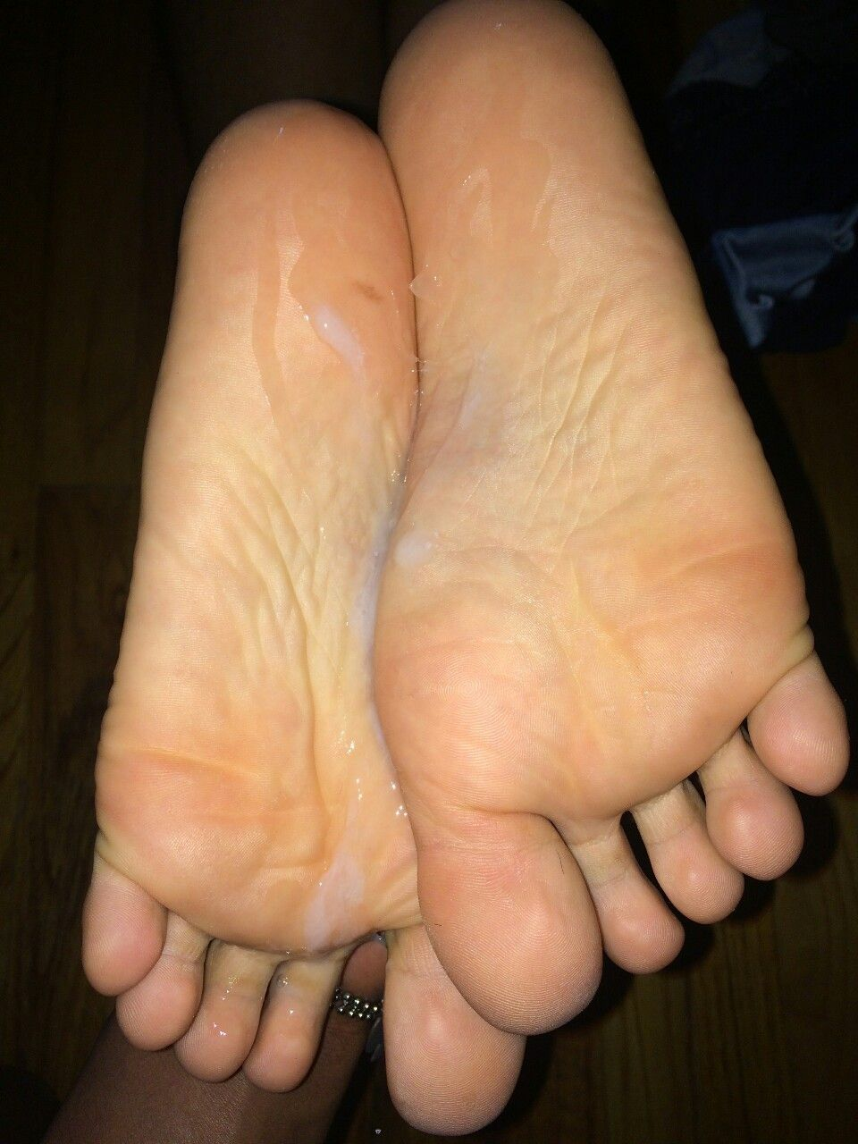 More Cum On Feet