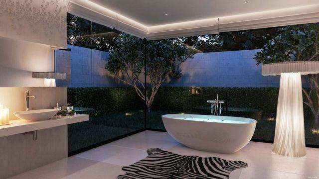 Salle De Bain De Luxe Au Design Modern Et Chic Luxury Pinterest