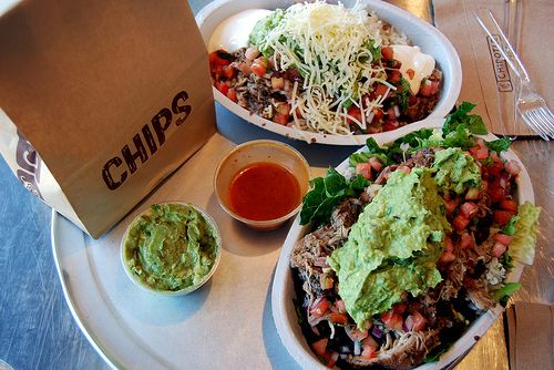 CHIPOTLE! @Ashley Weinreich