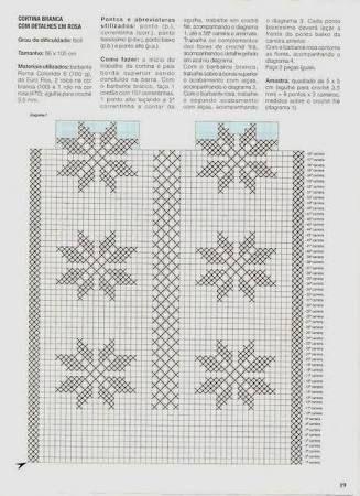 Risultati immagini per stelle di natale graficos cortinas em croche
