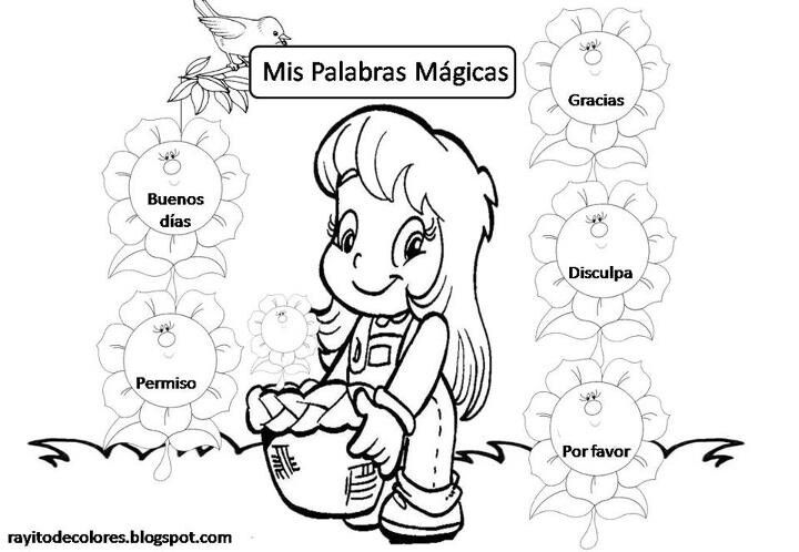 Palabras Magicas Comics Fictional Characters Greetings