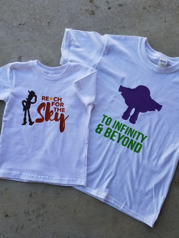 Disney shirt ideas, reach for the sky tshirt, Toy Story