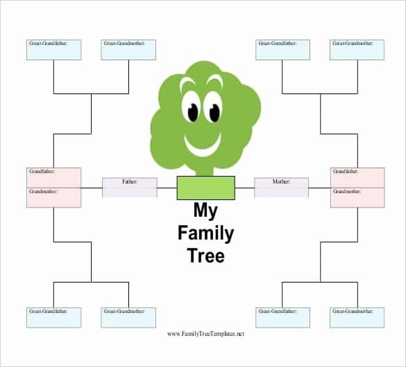 40 Free Family Tree Template Excel
