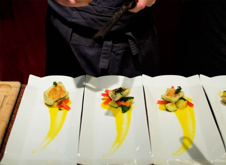 french fine dining menu ideas. fine dining plate presentation | hidden kitchen: paris\u0027 secret supper club french menu ideas