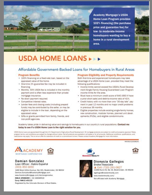 Usda 0 Down Home Loans Loan Usda Loan