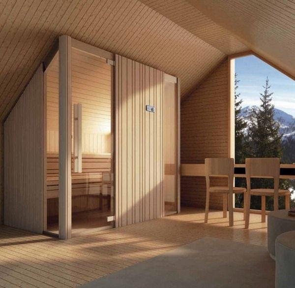 Sauna In The Bathroom A Wellness Universe At Home Modern Farmhouse Interiors Sauna Sauna Design