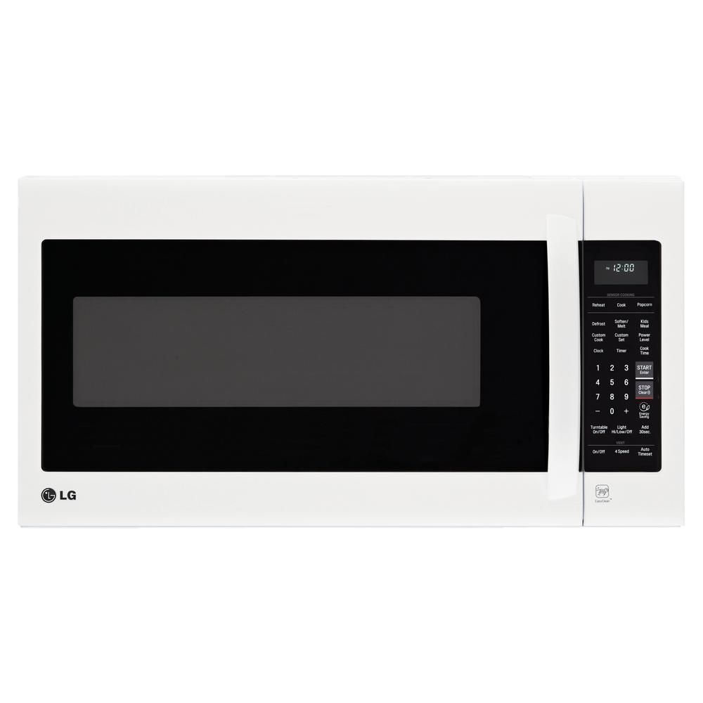 Lg Electronics 2 0 Cu Ft Over The Range Microwave In Smooth