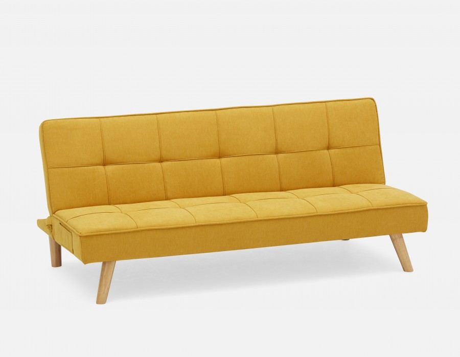 Michel Green Tufted Sofa Bed Structube In 2020 Tufted Sofa