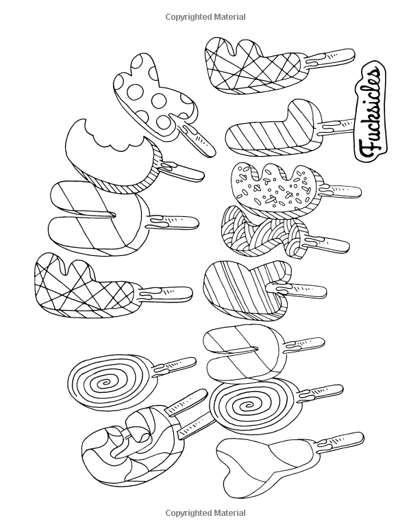 Swear Word Coloring Book: Fucksicles: For fans of adult