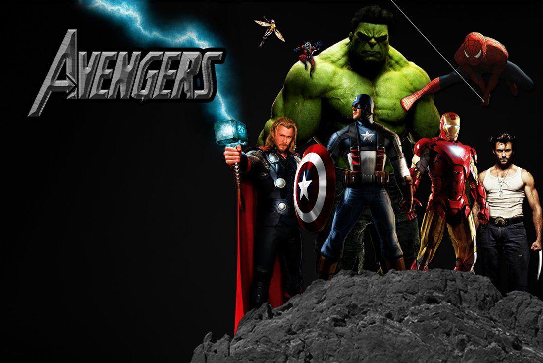 Avengers Pinterest: Avengers Wallpaper Avengers Movie Pictures Standing At The