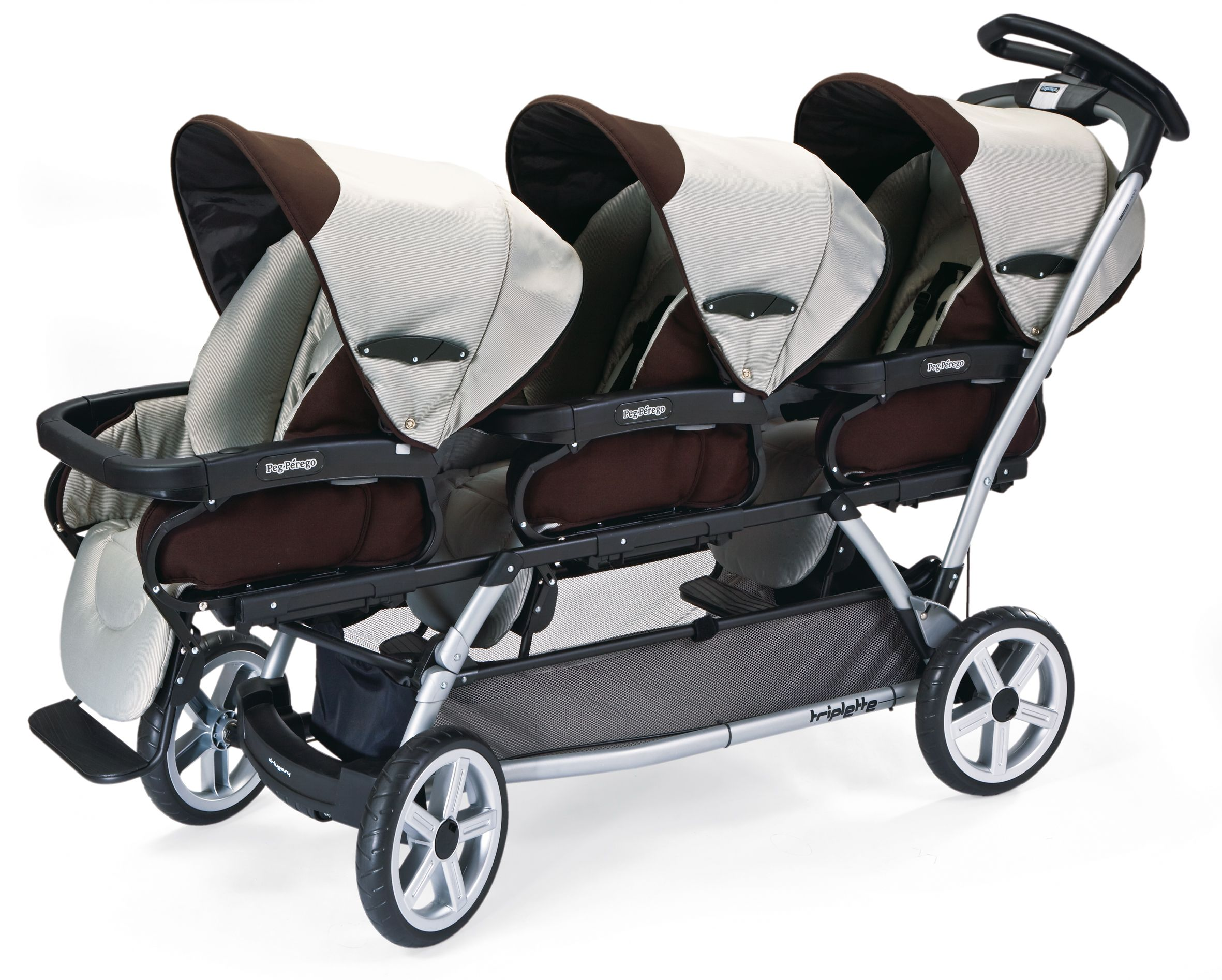 Peg Perego Stroller For Twins Peg Perego S Triplette Sw Stroller At 999 98 Has A Steering