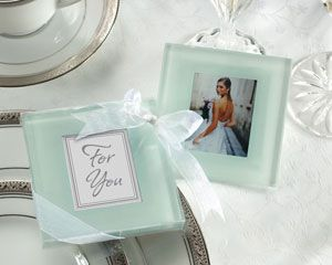 Crafted Of Heavy Hiqh Quality Frosted Glass Each Coaster Featu Find This Pin And More On Wedding Favors