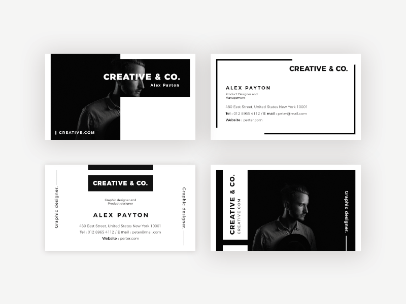 Professional look Business Card Design | Business cards, Business ...