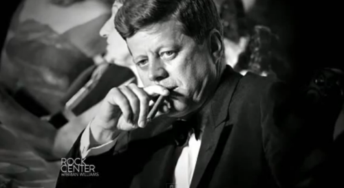 JFK -- A well dressed man is more attractive to me than a shirtless man with a six pack.