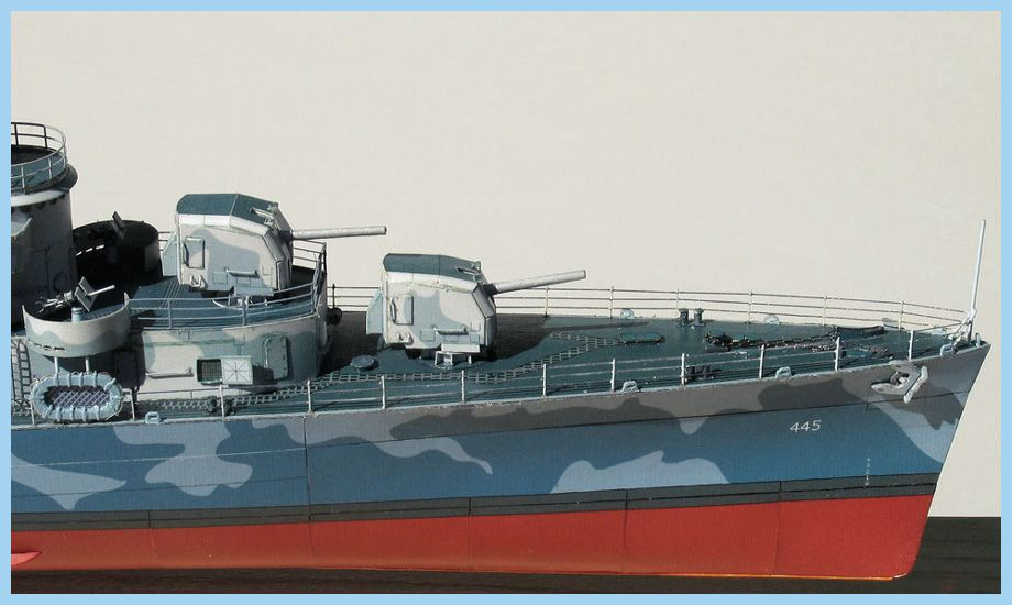 USS Fletcher, USS Leutze, USS Black, USS Caperton   Premium