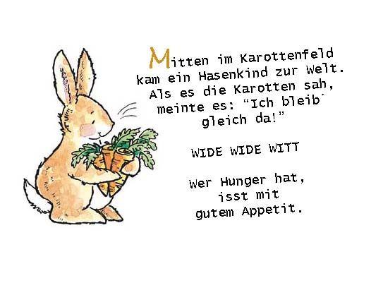 Kaninchen Gedicht