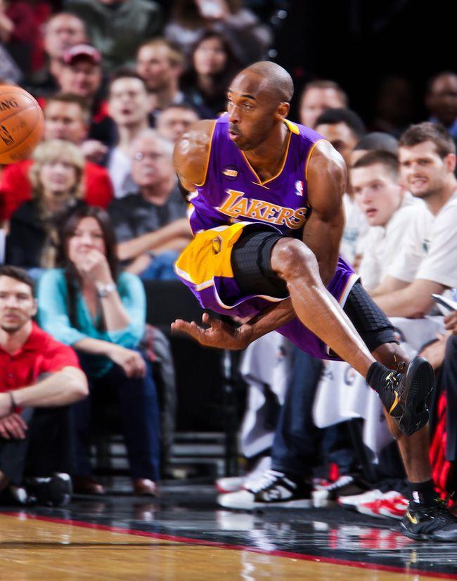 on sale ef755 d80e4 Kobe Bryant Debuts the Kobe 8 Elite on Court