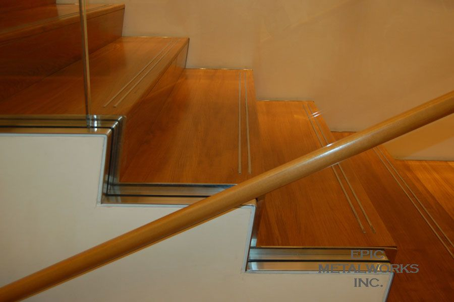 Wood Stair Stainless Steel Nosing   Google Search