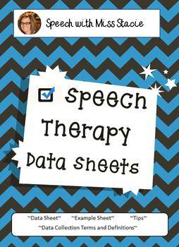 speech therapy data sheets speech therapy printables pinterest rh pinterest com