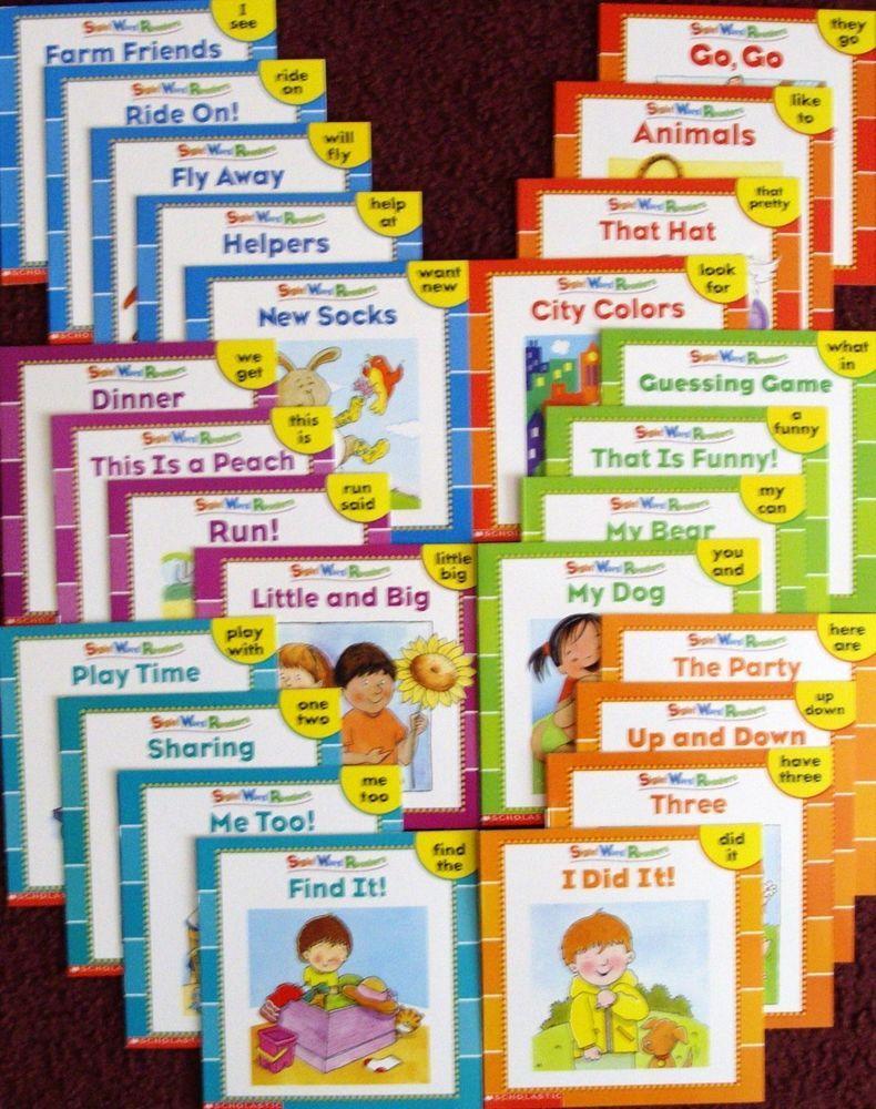 Workbooks prek workbooks : 25 NEW ILLUSTRATED SIGHT WORD READERS PHONICS TEACHING SUPPLES ...