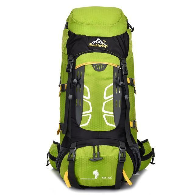 Waterproof Outdoor Backpack Camping Bags Climbing Backpacks External Frame  Travel Hike Sports Bag Hiking Rucksack 33 20 60cm ce636e807a