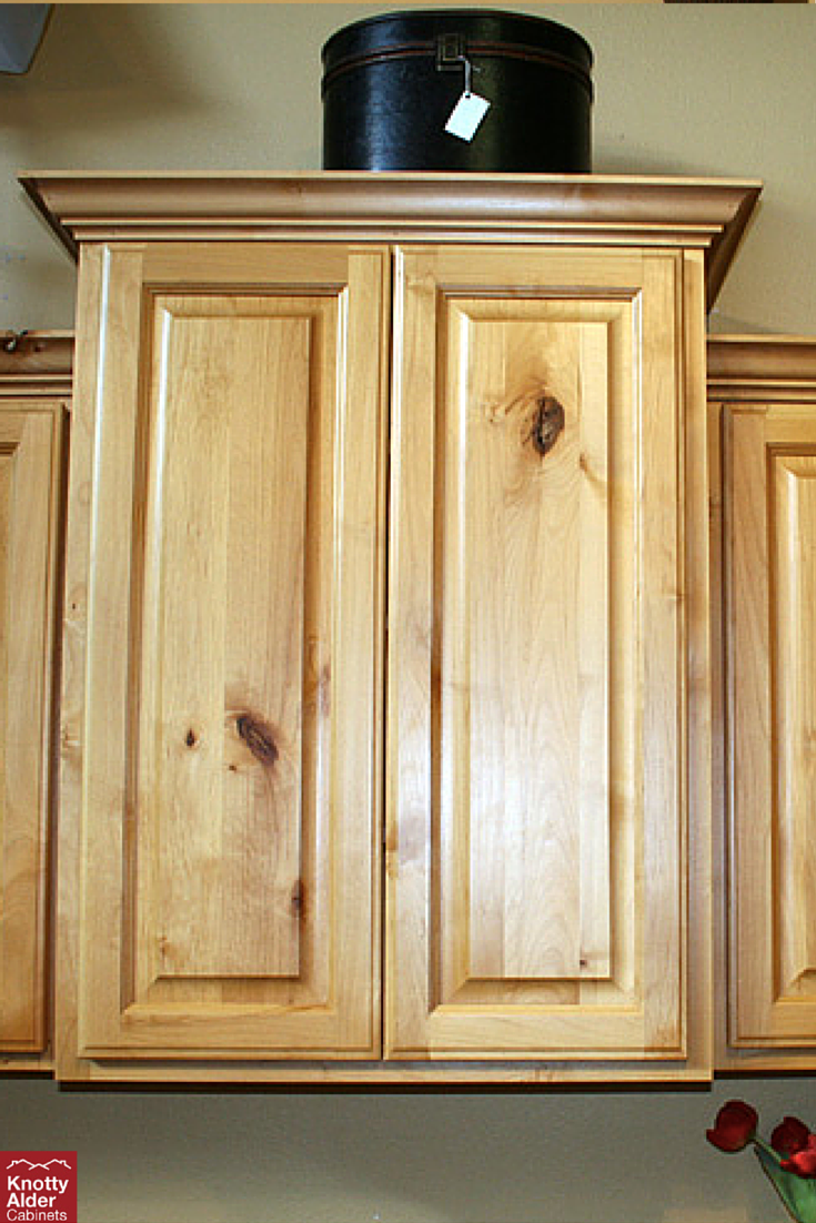 You Can T Go Wrong With The Natural Knotty Alder Look Naturalstain Knottyalder Cabinets Alder Cabinets Knotty Alder Kitchen Knotty Alder Cabinets