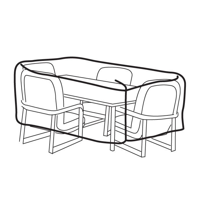 Outdoor Table Chairs Covers At