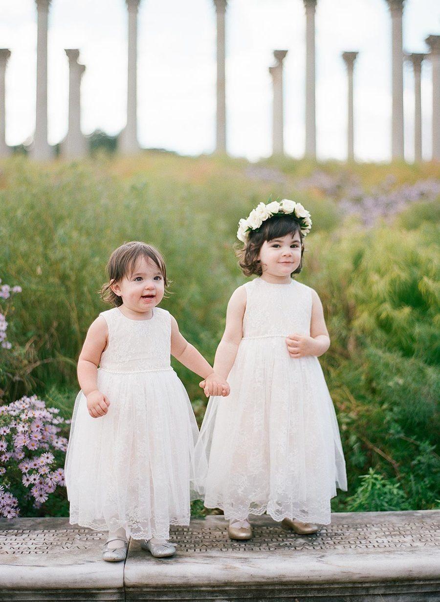 e18453c8c37 Purple and Green National Arboretum Wedding in DC