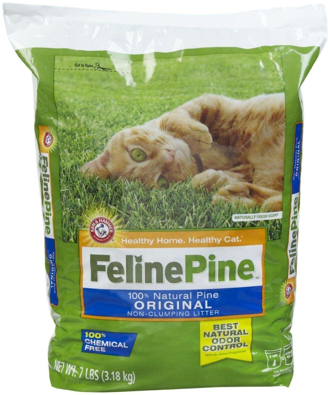 Feline Pine Original Cat Litter, 7Pound Bag Hope you