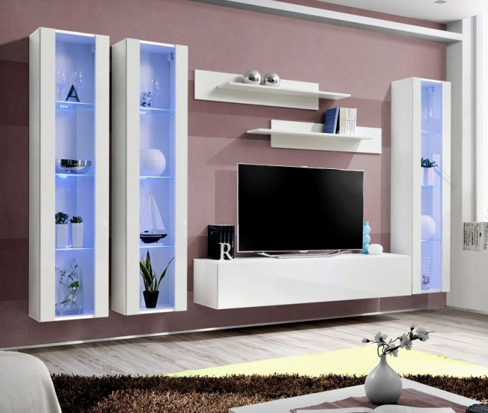 idea d6 meuble tv haut meubles tv moderne pinterest meuble tv modulable meuble tv led. Black Bedroom Furniture Sets. Home Design Ideas