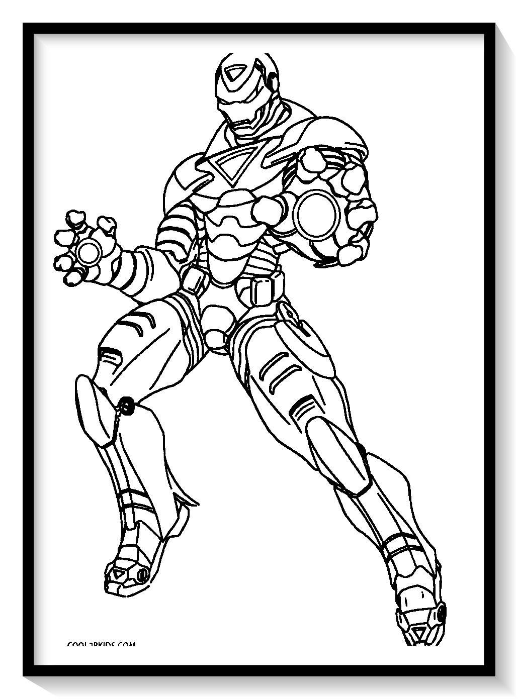 Dibujos De Iron Man Para Colorear En Linea Colorear E Imprimir Ironman Ironman Para Avengers Coloring Pages Superhero Coloring Pages Coloring Pages