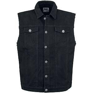 Black Premium by EMP – Life Of An Easy Rider – Waistcoat – black  – Size: Extra Large