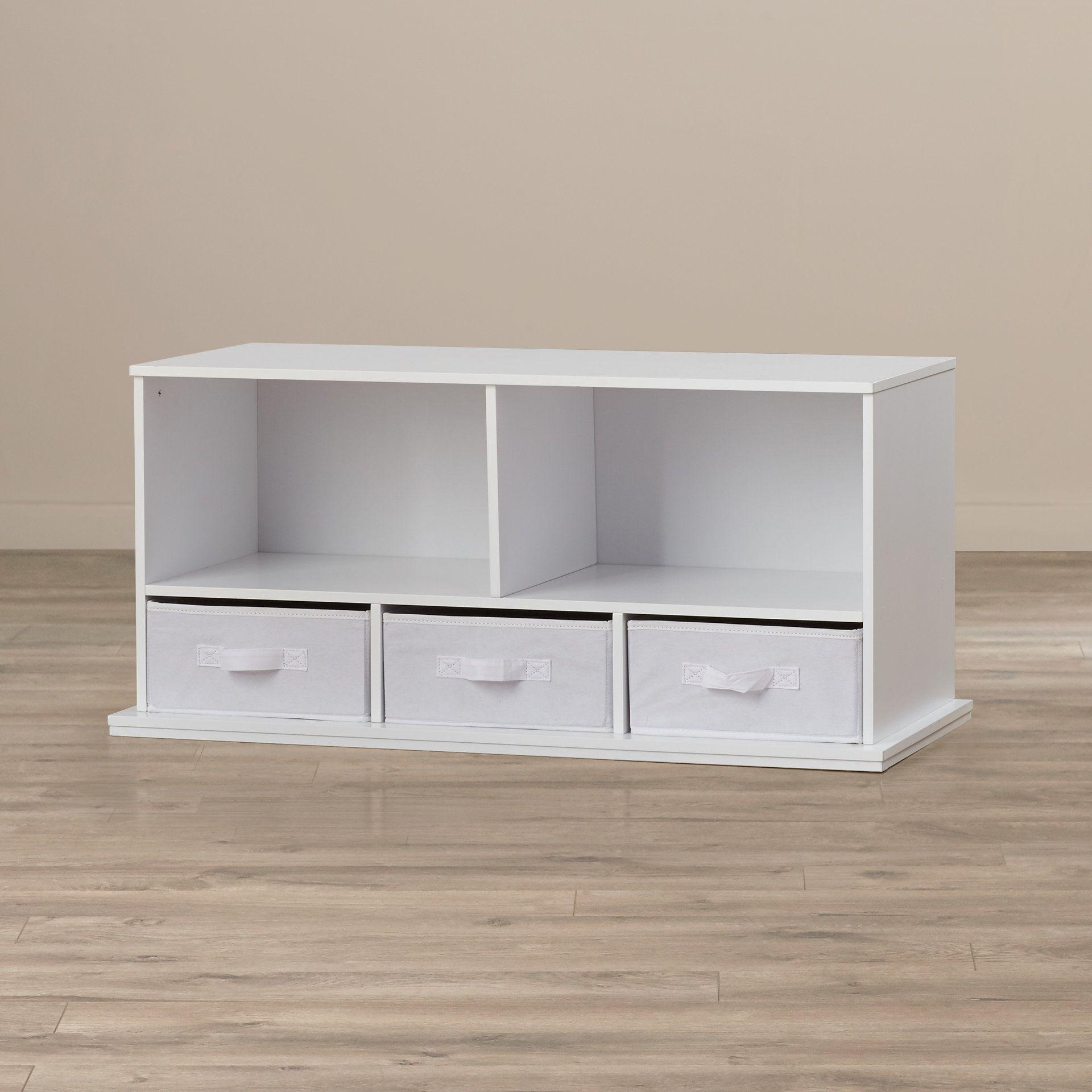 Ever Gabo Shelf Storage Cubby with 3 Baskets | Home Decor ...