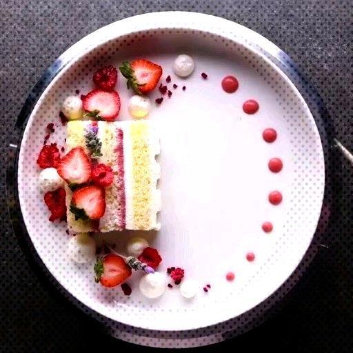 Dessert Plate So cool but weird