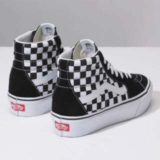 un poco Alas Hacer la cena  Bota Vnas Sk8Hi Plataforma 2.0 CheckerBoard True White (Z9603) sb | Zapatos  vans para hombre, Zapatos converse de mujer, Zapatos nike para damas