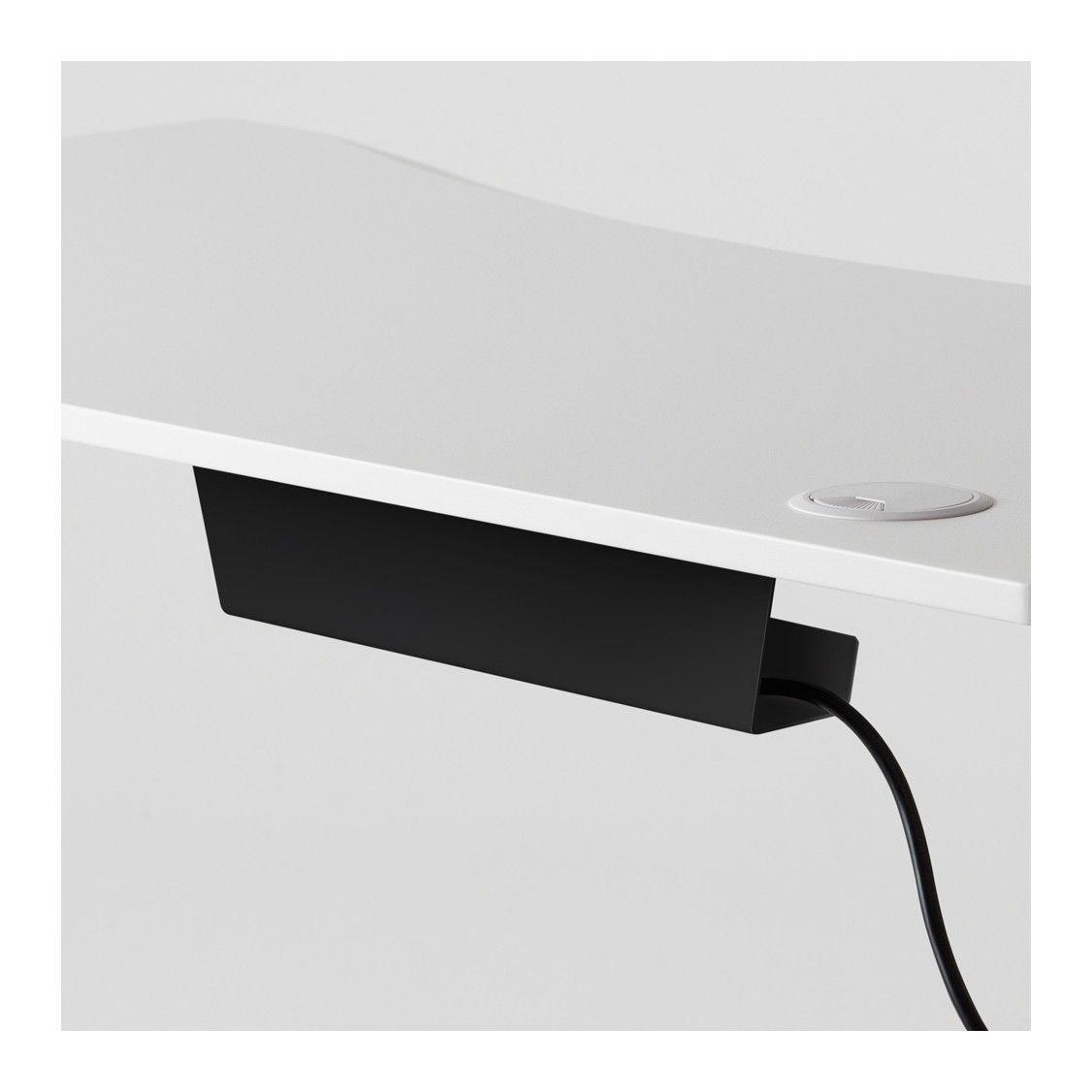 Wiretamer Cable Tray Adjustable Height Desk Desk