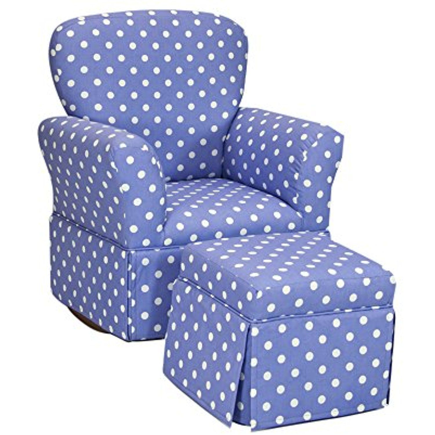 Polka Dots Lilac KidsFurnitureDcorStorage Kids rocking