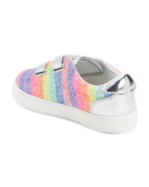 Chunky Glitter Velcro Sneakers (toddler