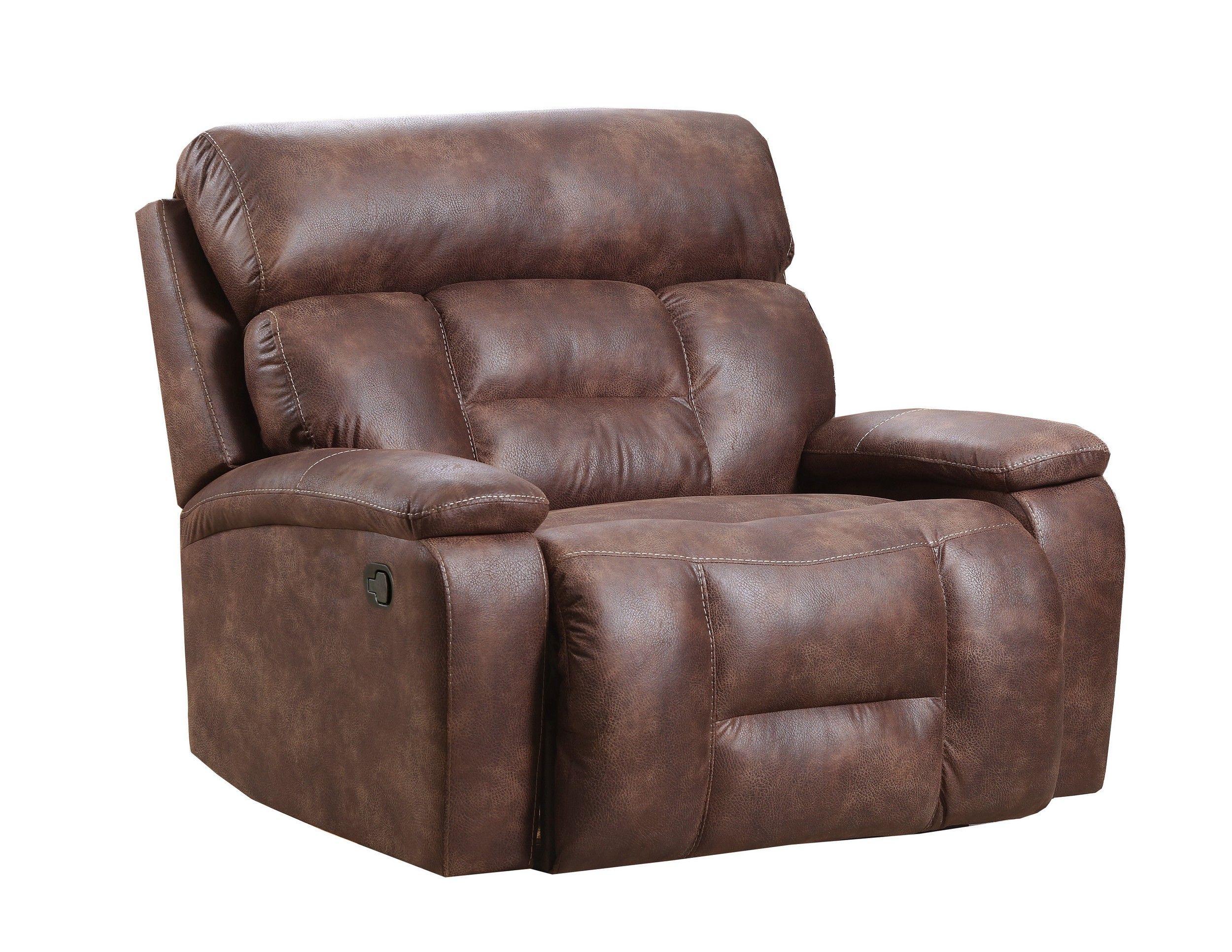 Simmons Upholstery Dorado Walnut Cuddler Recliner Reviews