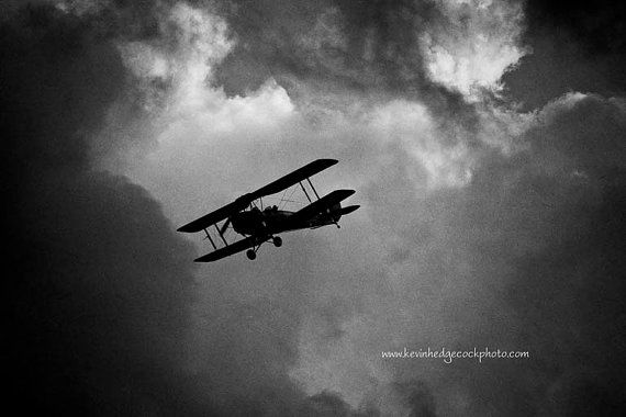 Stormy weather aircraft flying art print by KevinHPhotography, $30.00 we can always make it through the storm