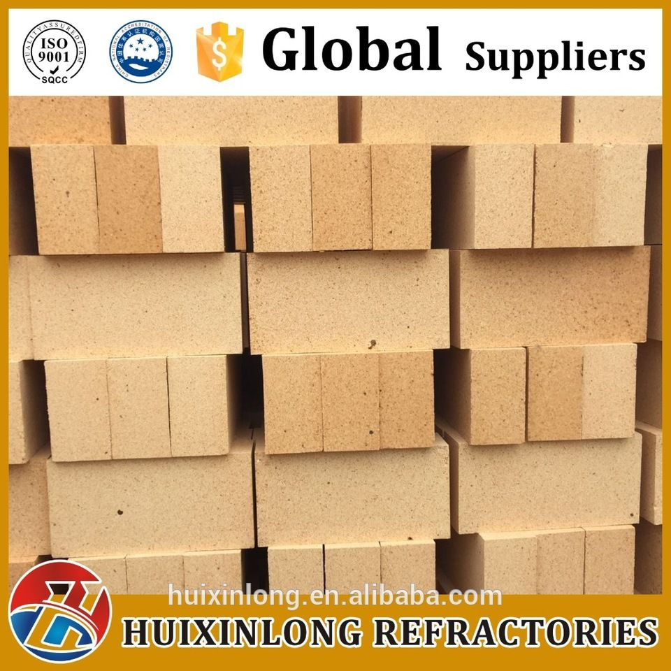 High-Alumina Brick Cement Industry Furnace / Kilns Fire Clay Brick