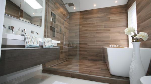 Une salle de bain zen et actuelle   Home Renovation, Style and Decor
