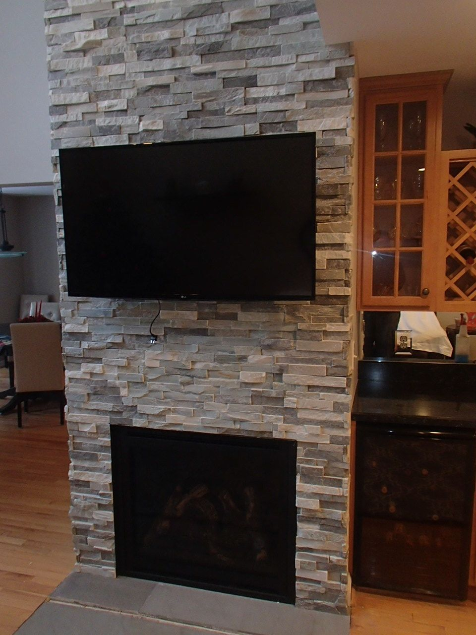 The bayport gas fireplace is perfect for anyone looking for an