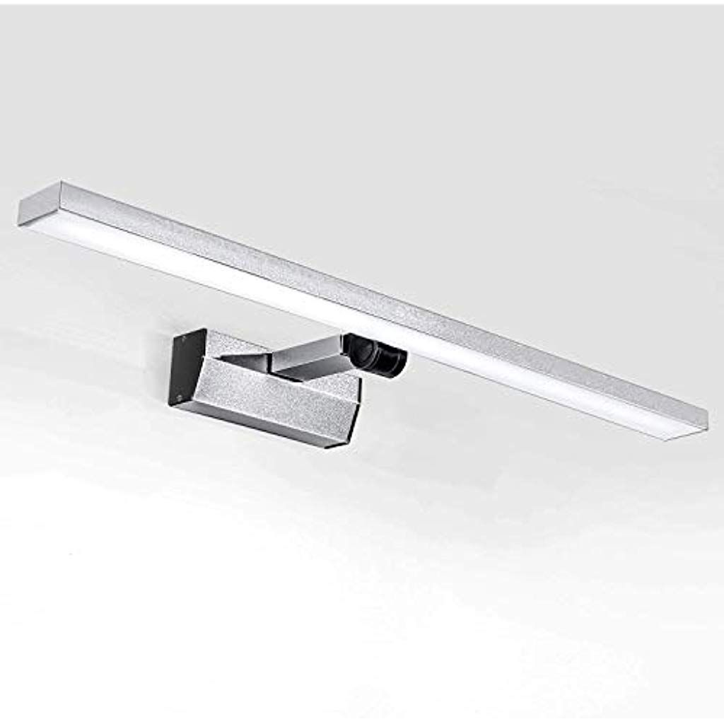 Lightess 21w Led Spiegellampe 60cm Kaltweiss 180 Drehbar Spiegelleuchte Wandmontage Ip44 Schranklampe Spiegelschrank Leuch In 2020 Spiegellampe Badlampen Spiegelschrank